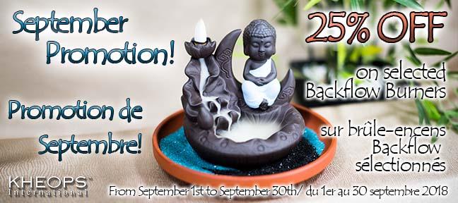 September Promotion / Promotion de septembre!