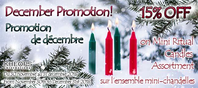 December Promotion / Promotion de Décembre !