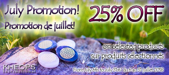 July promotions 2018 / Promotions de Juillet 2018